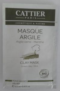Masque argile Argile Verte