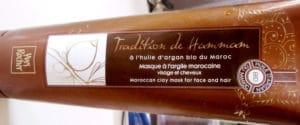 Masque argile Tradition de Hammam