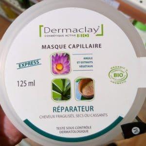 Masque capillaire réparateur
