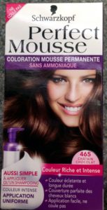 Mousse perfect 465 chatain/chocolat