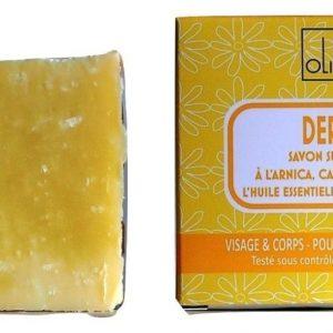 savon DERMA – Camomille noble – surgras 8% – sans huile de palme.